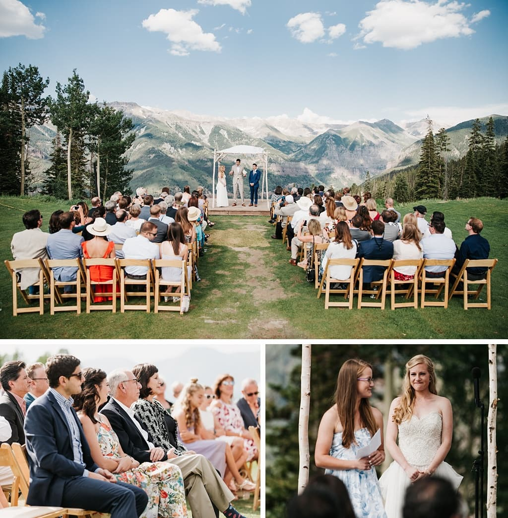 San Sophia Overlook Telluride Mountain Wedding Photography