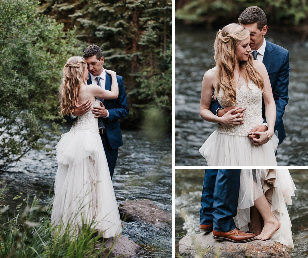 Telluride Mountain Wedding at San Miguel River Trail