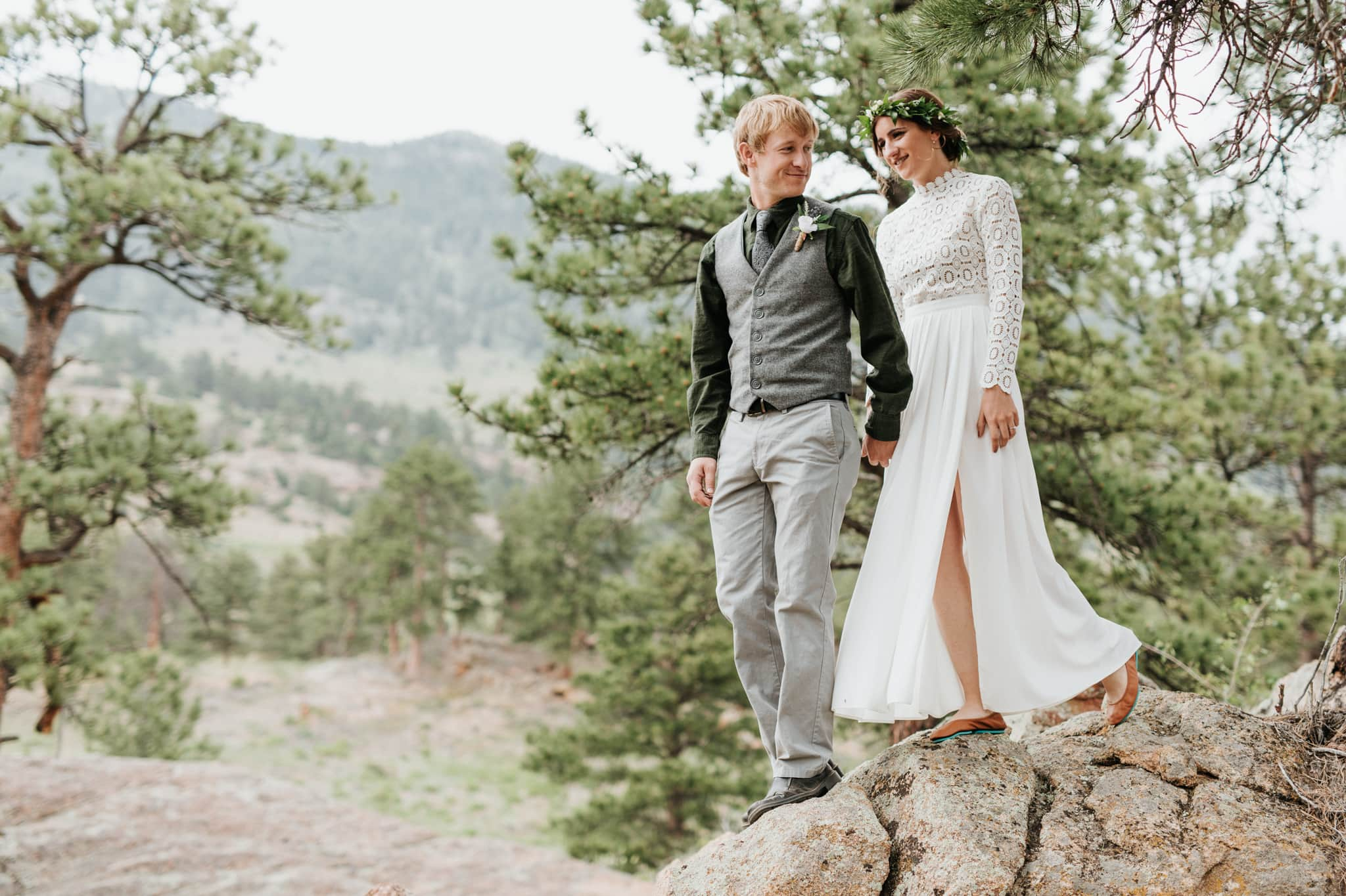 Wedding Dresses for Hiking Elopements