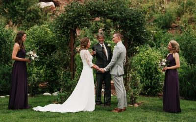 Stone Mountain Lodge Wedding in Lyons, Colorado