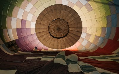 Boulder Colorado Hot Air Balloon Elopement Wedding