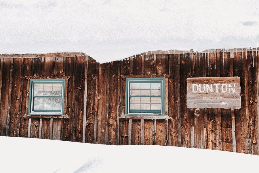 Dunton Hot Springs elopement venue