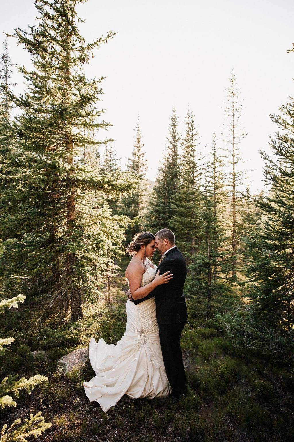 Lunch Rock Winter Park Resort Wedding Colorado Mountain