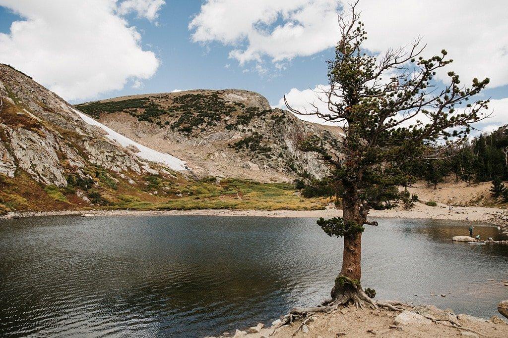 St. Mary's Glacier Colorado elopement location