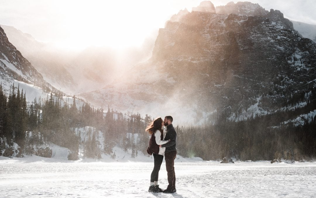 Rocky Mountain National Park Hiking Engagement Session
