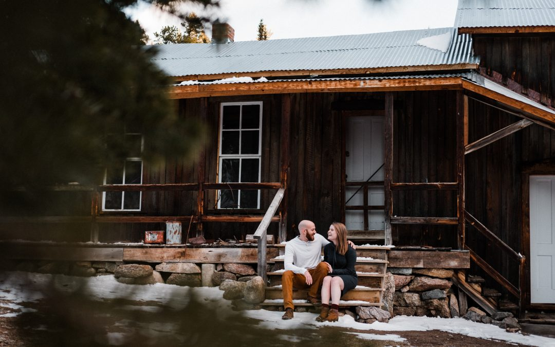 Colorado Hiking Engagement Photographer