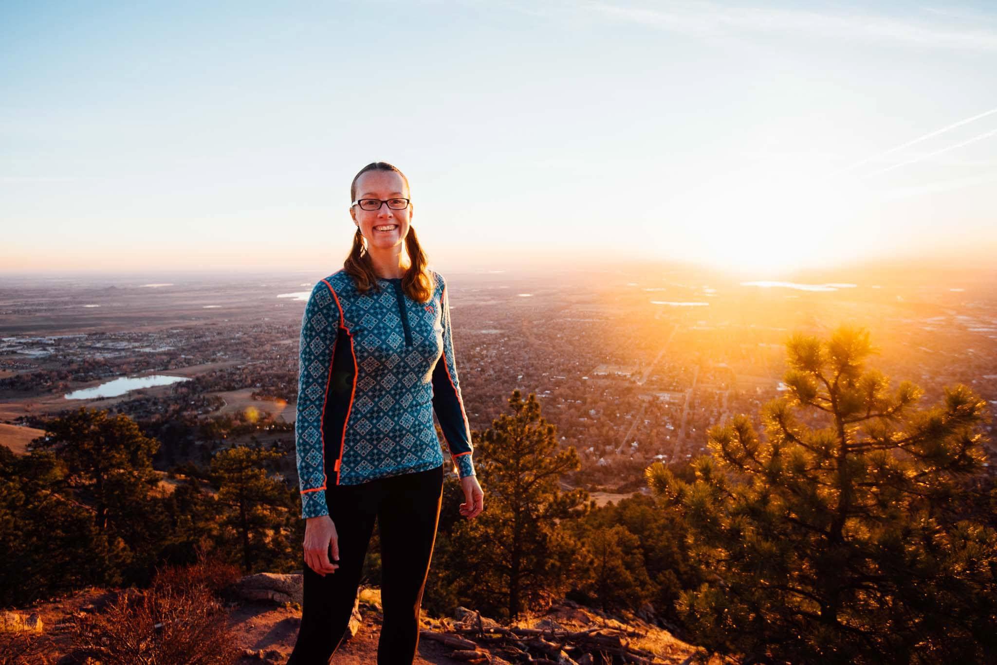 Boulder Colorado hiking photographer Mount Sanitas