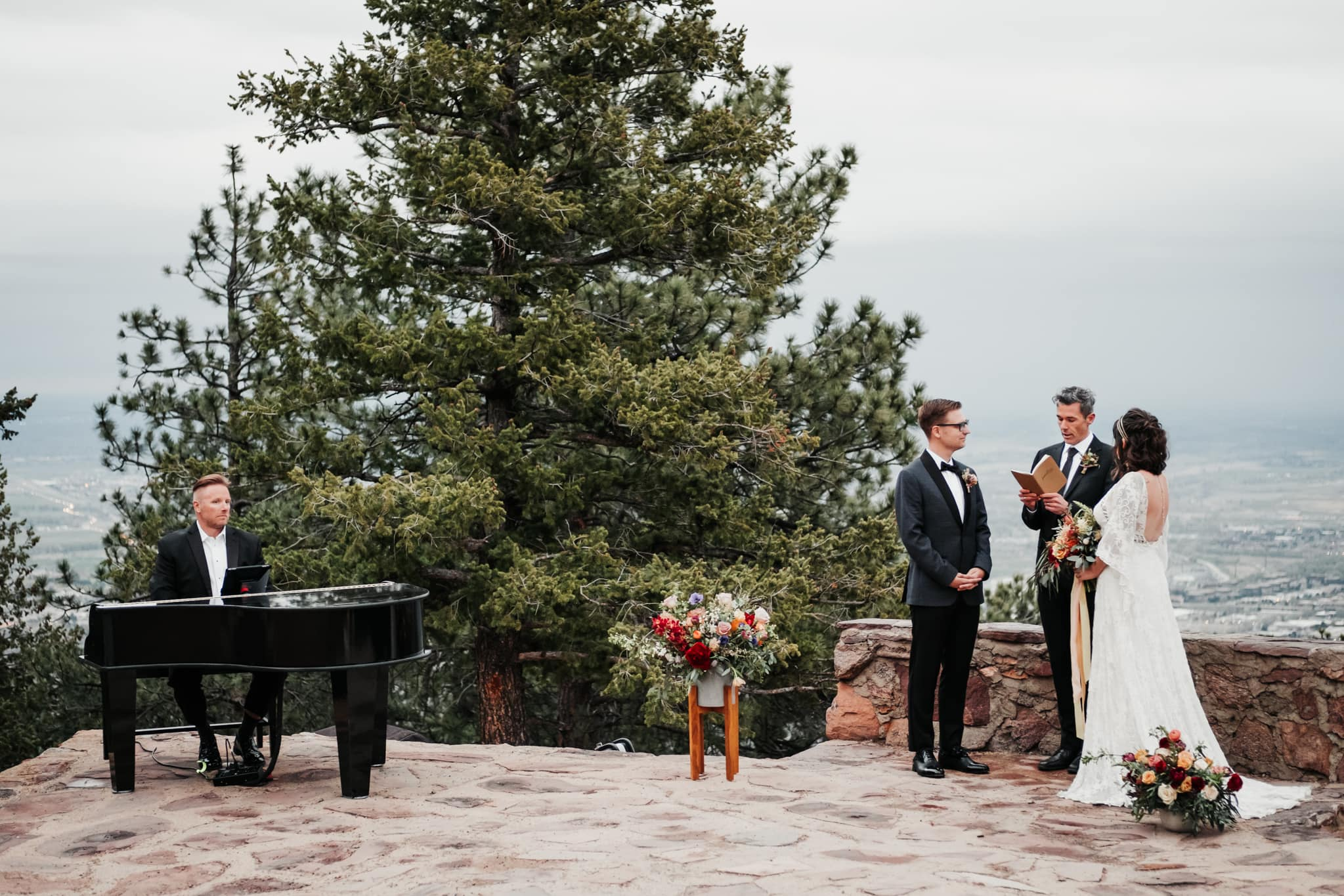Sunrise Amphitheater Elopement, Flagstaff Boulder Colorado wedding photographer