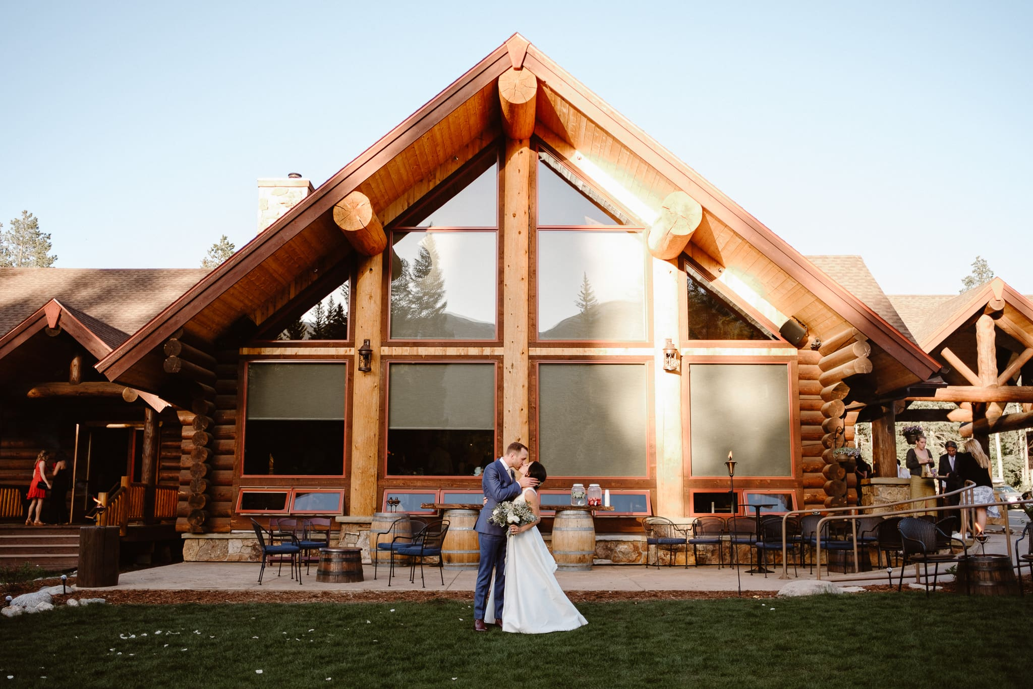 Breckenridge Nordic Center Wedding Photographer, Colorado mountain wedding venue,