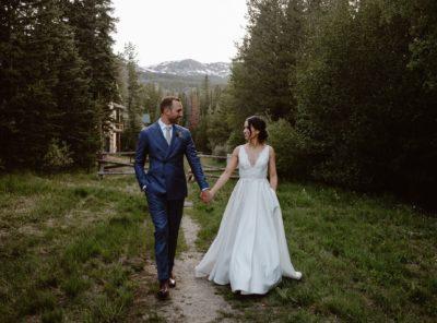 Diana + Will's Breckenridge Nordic Center Wedding