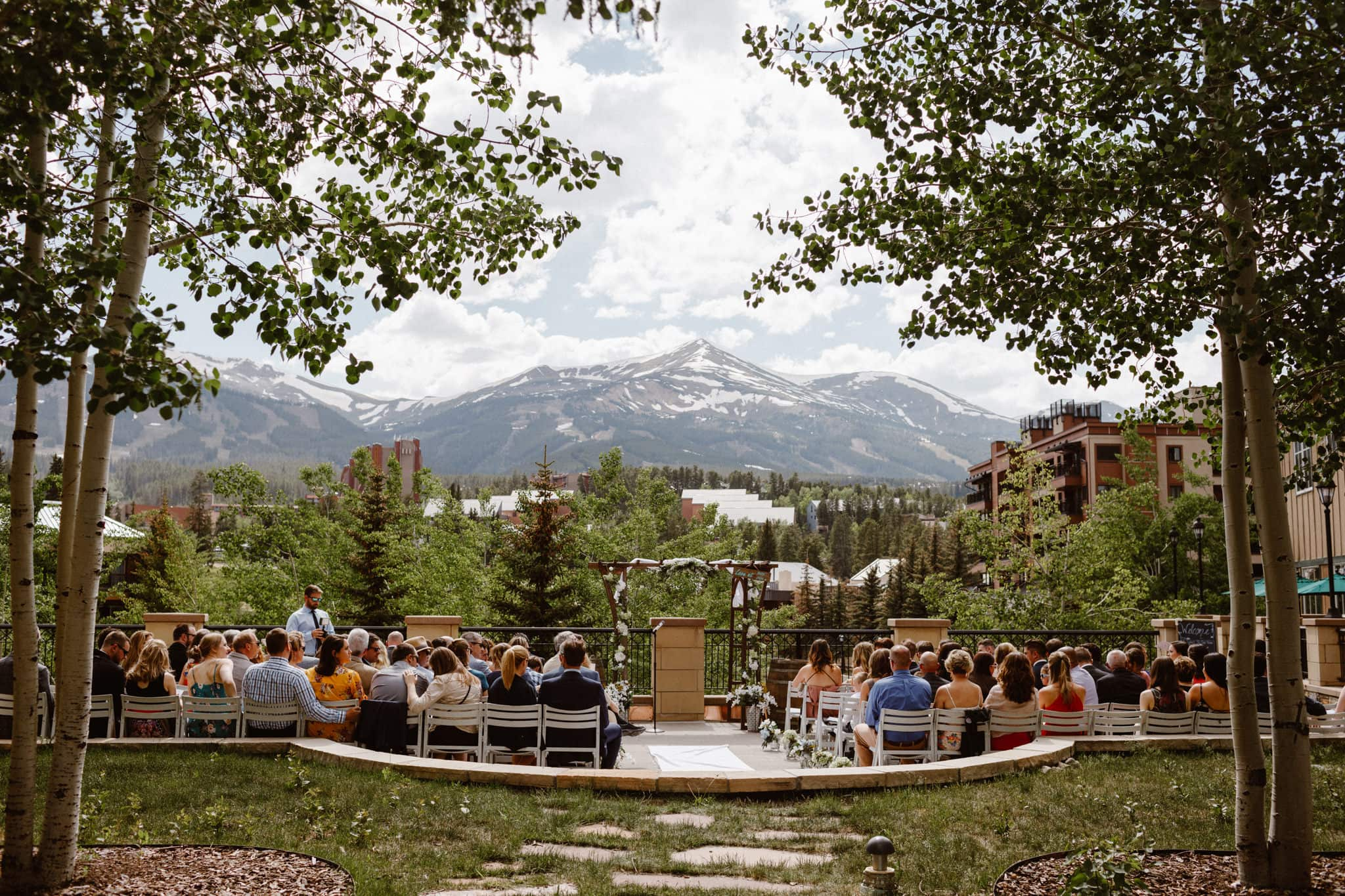 Main Street Station wedding venue, Breckenridge wedding photographer, Colorado ski resort wedding