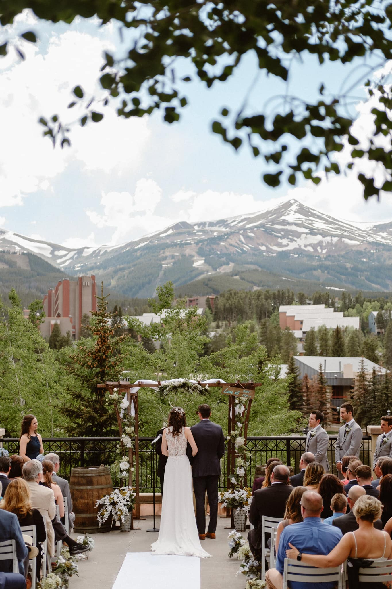 Main Street Station wedding photographer, Breckenridge Colorado ski resort wedding photographer