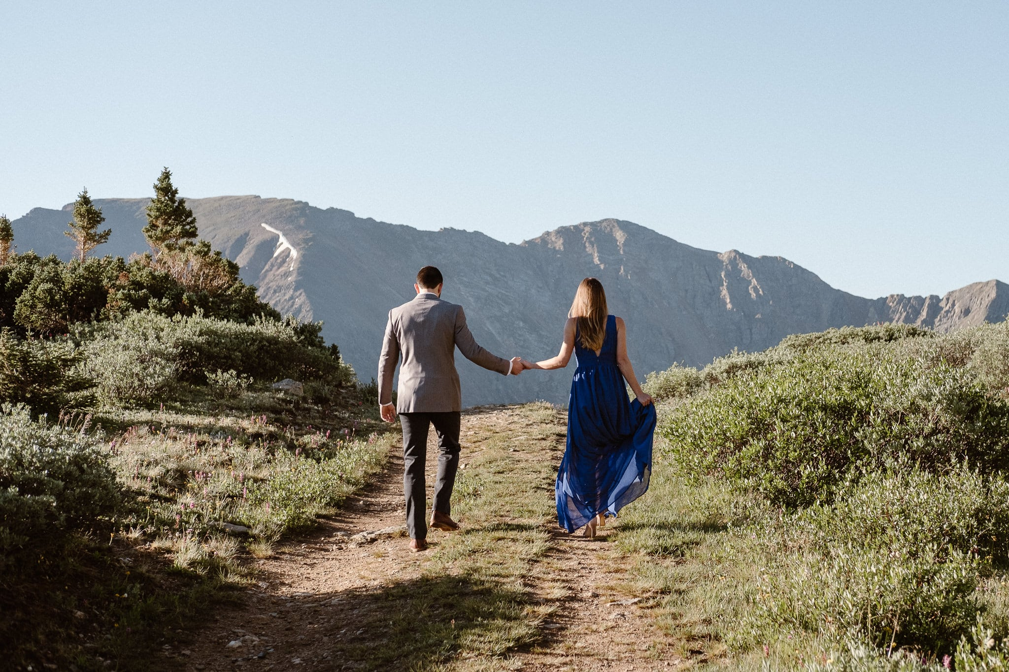 Colorado adventure engagement photography, Loveland Pass mountain elopement, Summit County wedding photographer
