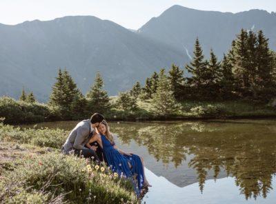 Kaity + Manuel's Loveland Pass Engagement
