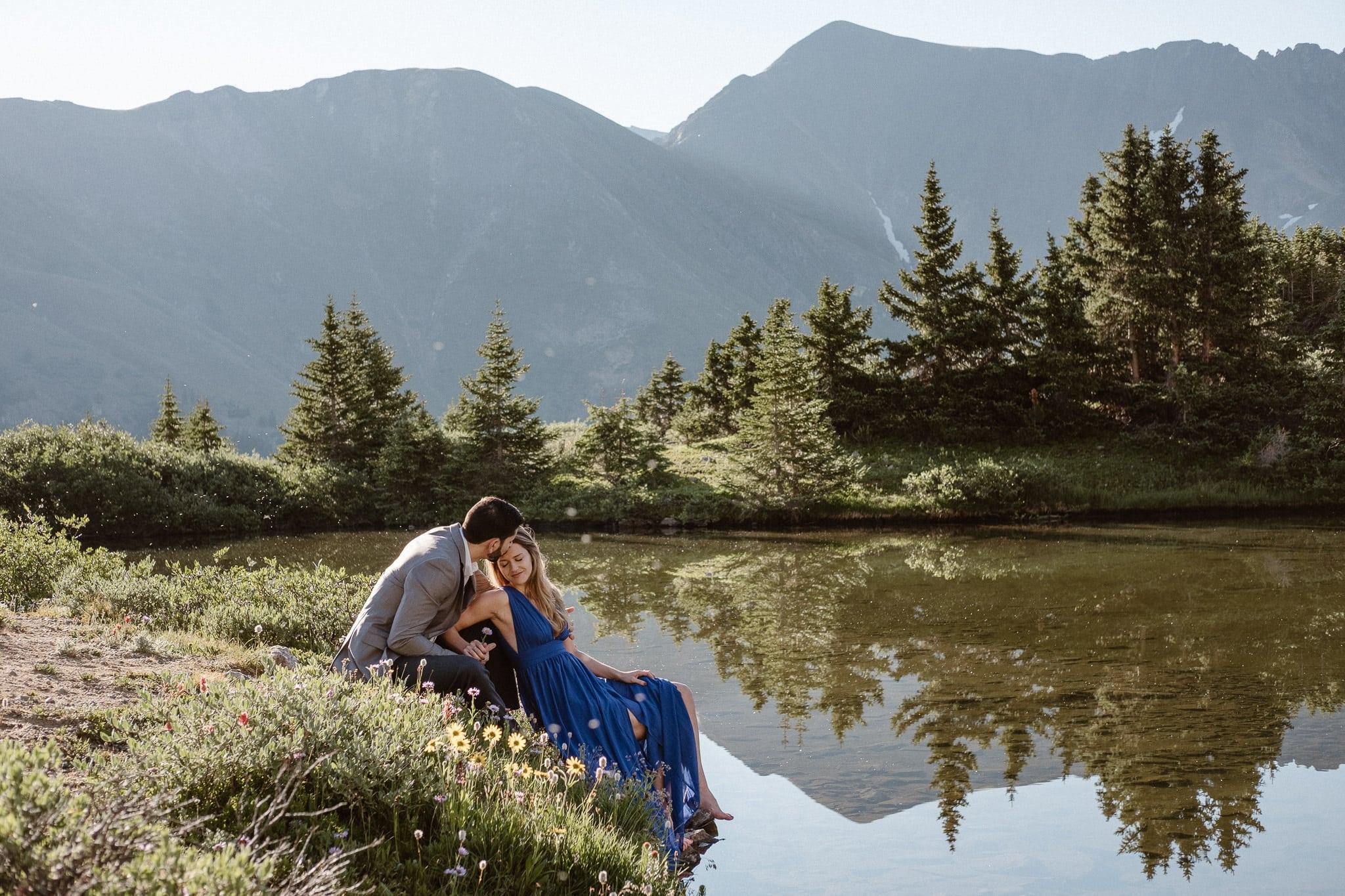 Kaity + Manuel's Colorado Adventure Engagement