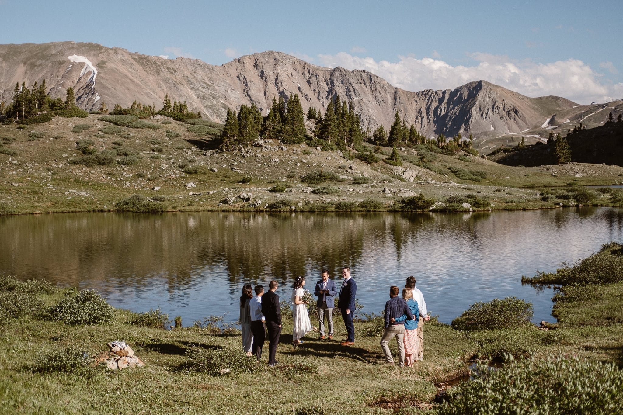 Loveland Pass Elopement Photographer, Colorado adventure wedding photographer, intimate mountain wedding