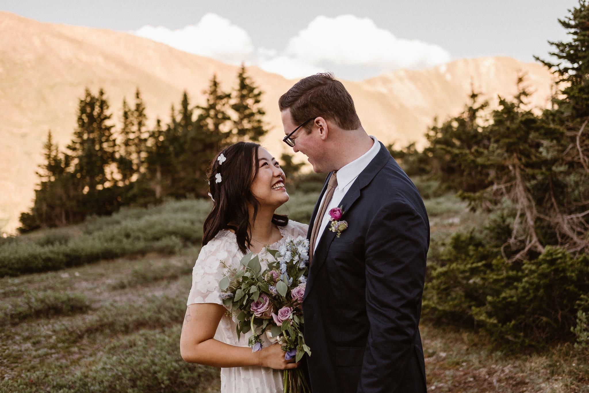 Loveland Pass Elopement, Colorado adventure wedding photographer