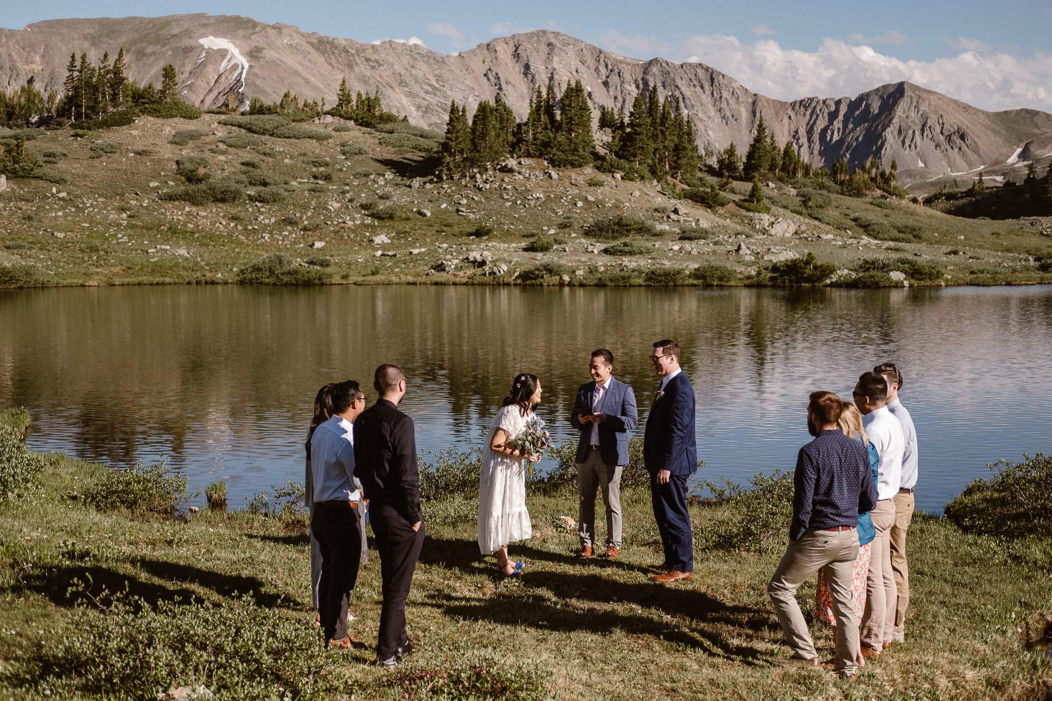 Loveland Pass Elopement Photographer, Colorado adventure wedding photographer