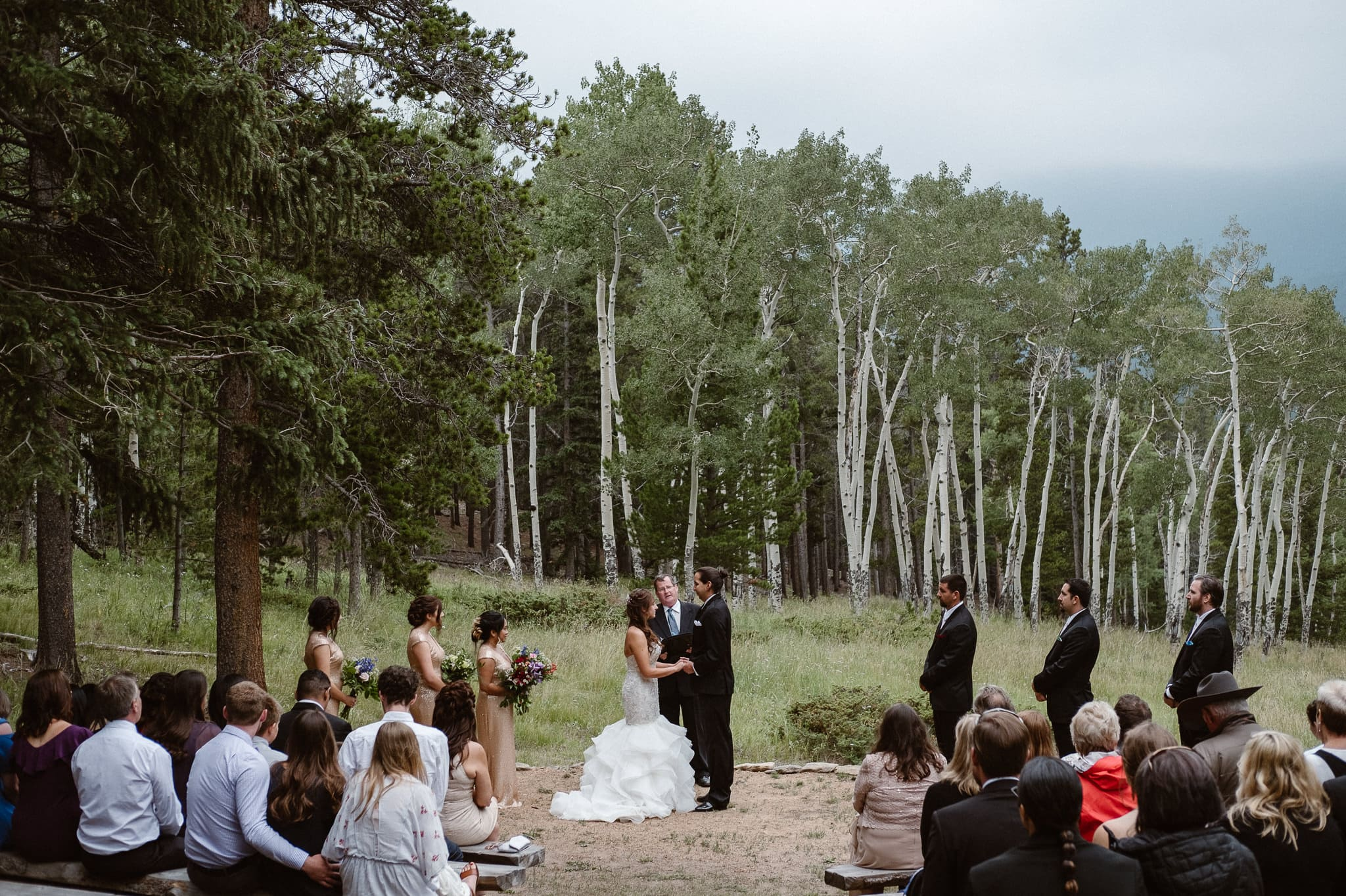 Dao House Wedding Photographer Estes Park, Colorado mountain elopement photographer