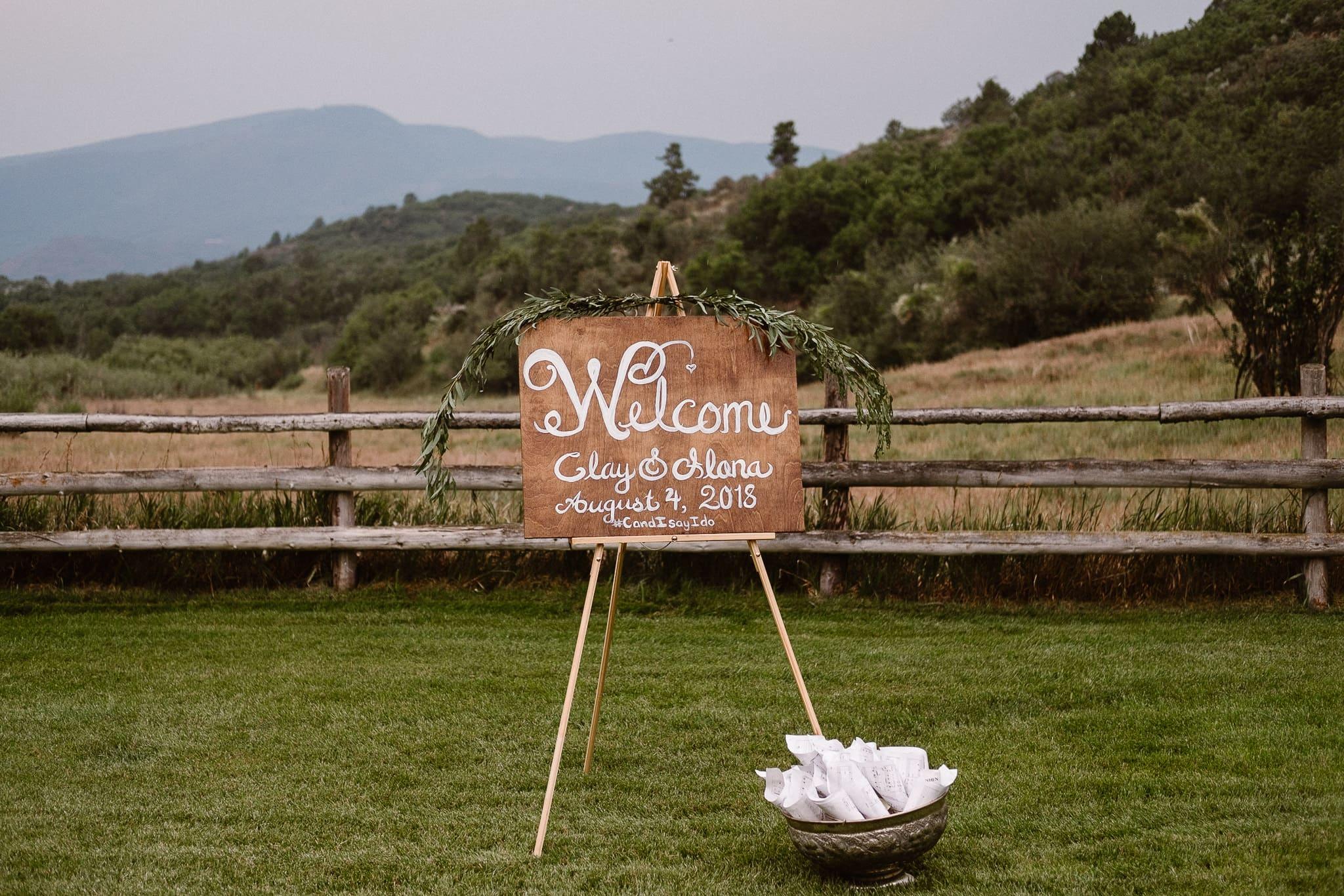 Aspen ranch wedding, Colorado mountain wedding photographer, private ranch wedding reception