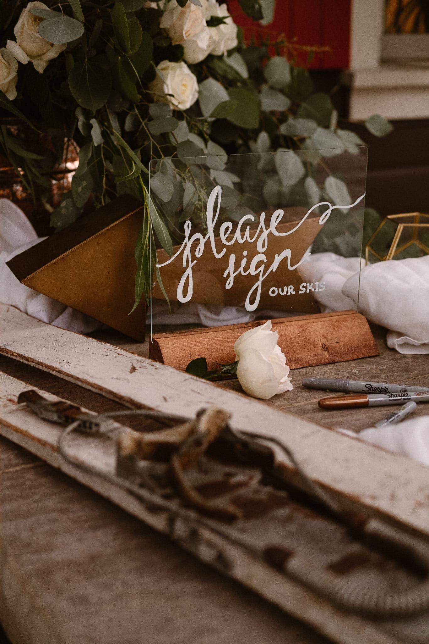 Aspen ranch wedding, Colorado mountain wedding photographer, private ranch wedding, ski guest book