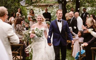 Ilona + Clay's Aspen Ranch Wedding