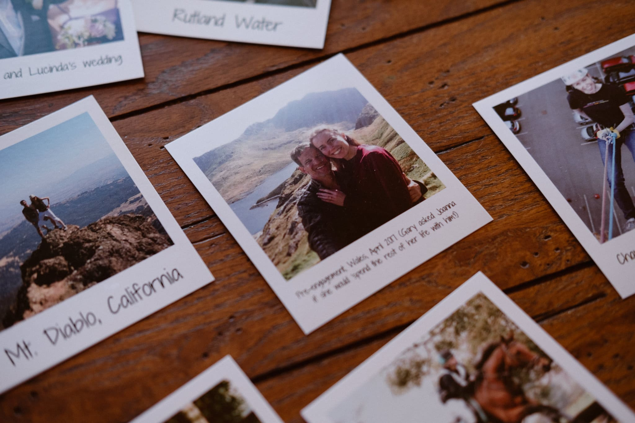 Red Feather Lakes elopement photographer, Colorado intimate cabin wedding, wedding polaroids