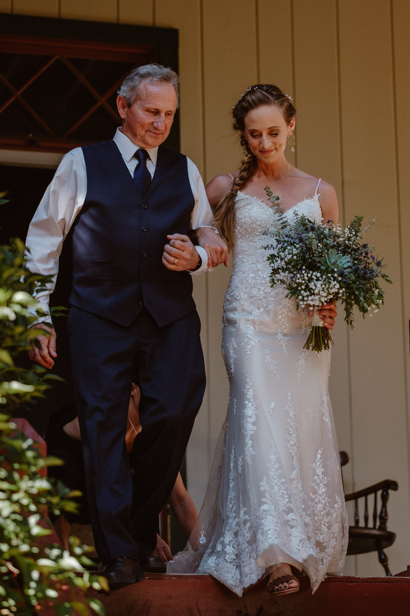 Redstone Inn wedding photographer, Carbondale wedding photographer, Colorado intimate wedding photographer, wedding ceremony processional