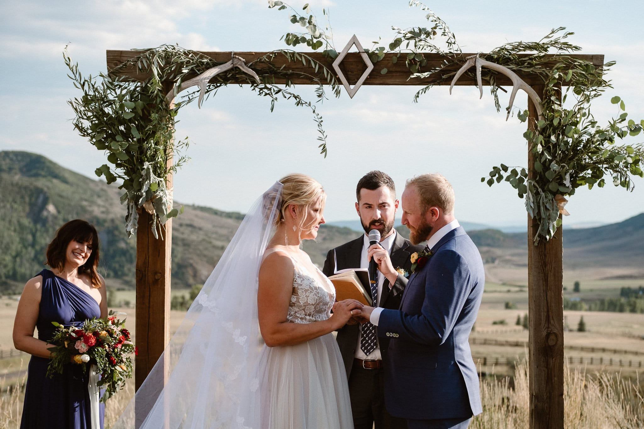 Steamboat Springs wedding photographer, La Joya Dulce wedding, Colorado ranch wedding venues, outdoor wedding ceremony, Colorado wedding, Rocky Mountain wedding, ranch wedding
