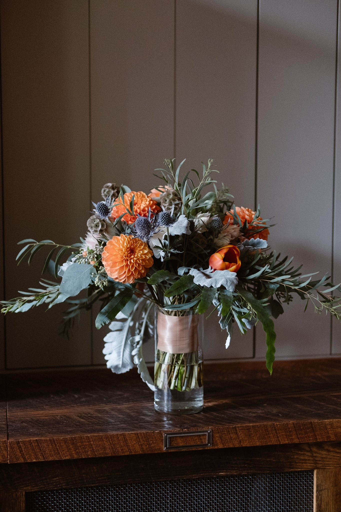Crested Butte Wedding Photographer, Scarp Ridge Lodge intimate elopement, fall color bouquet by From the Ground Up Flowers