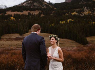 Angela + Scott's Scarp Ridge Lodge Wedding