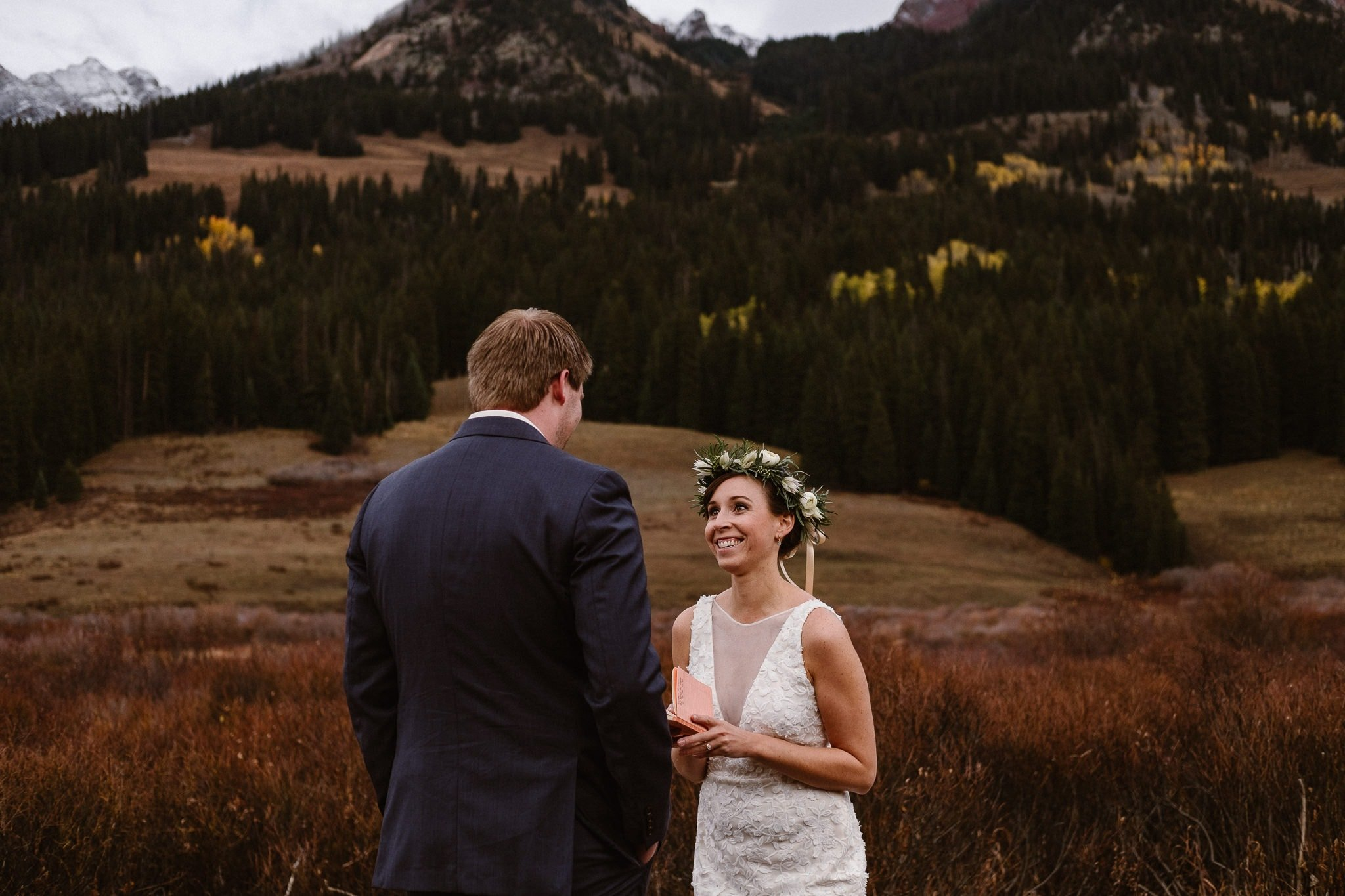 Angela + Scott's Crested Butte Elopement