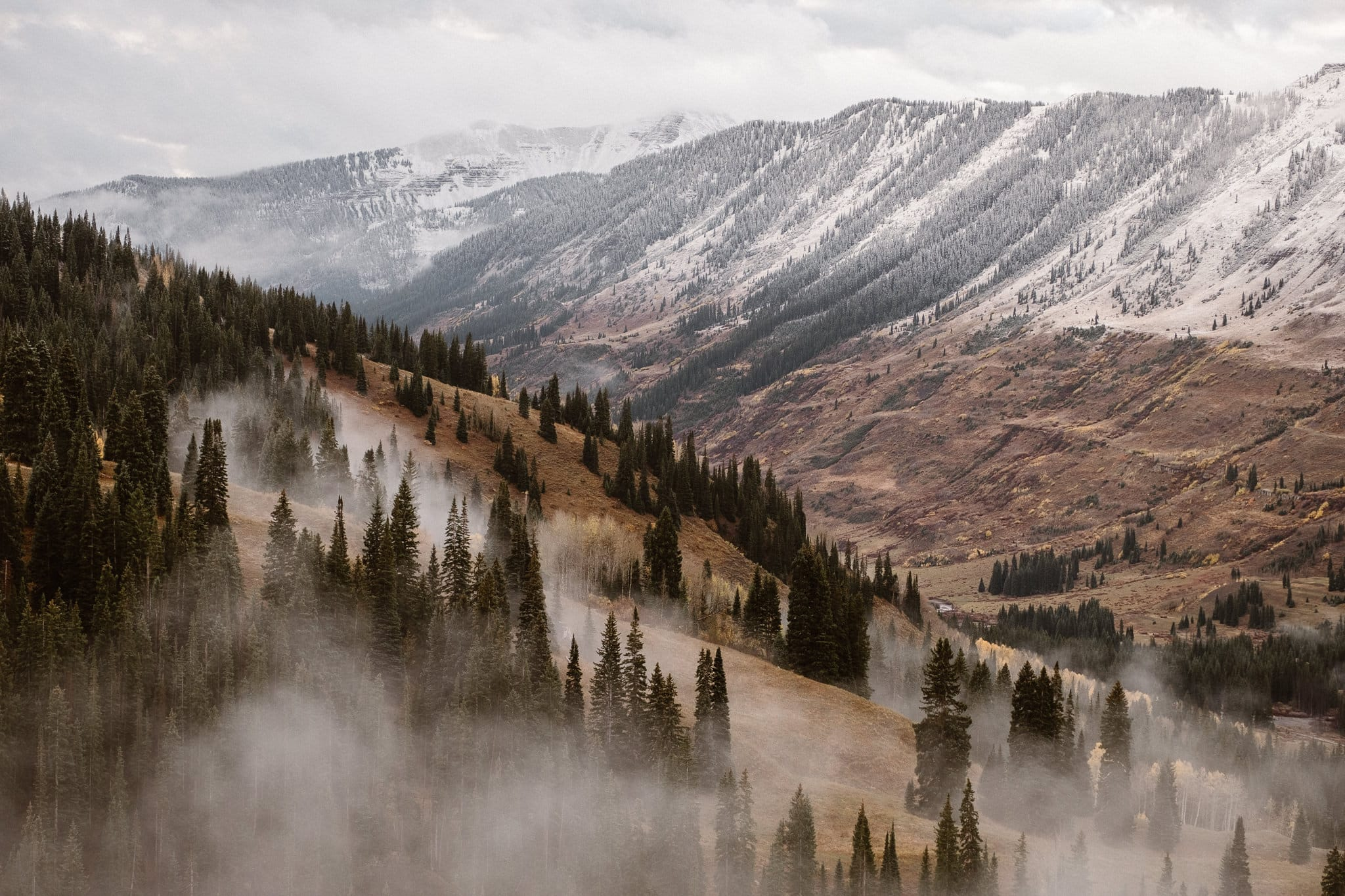 Crested Butte Winter mountain photography Colorado