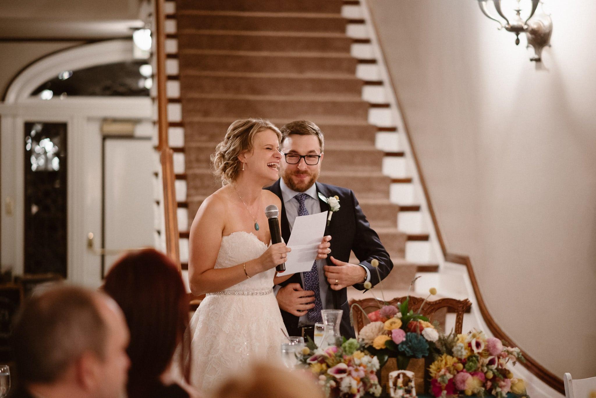 Grant Humphreys Mansion Wedding Photographer, Denver wedding photographer, Colorado wedding photographer, wedding toasts