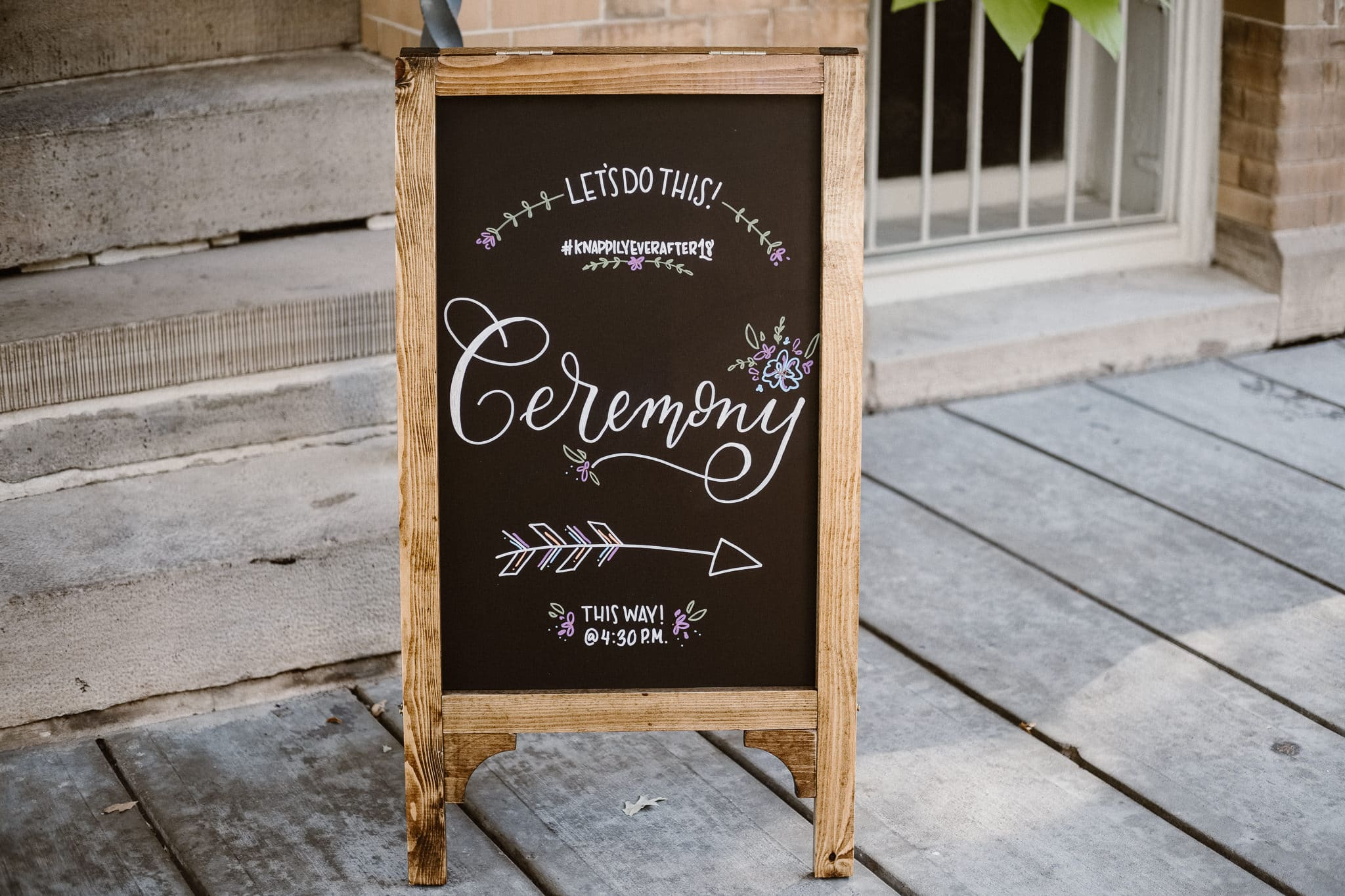 Grant Humphreys Mansion Wedding Photographer, Denver wedding photographer, Colorado wedding photographer, chalkboard ceremony sign