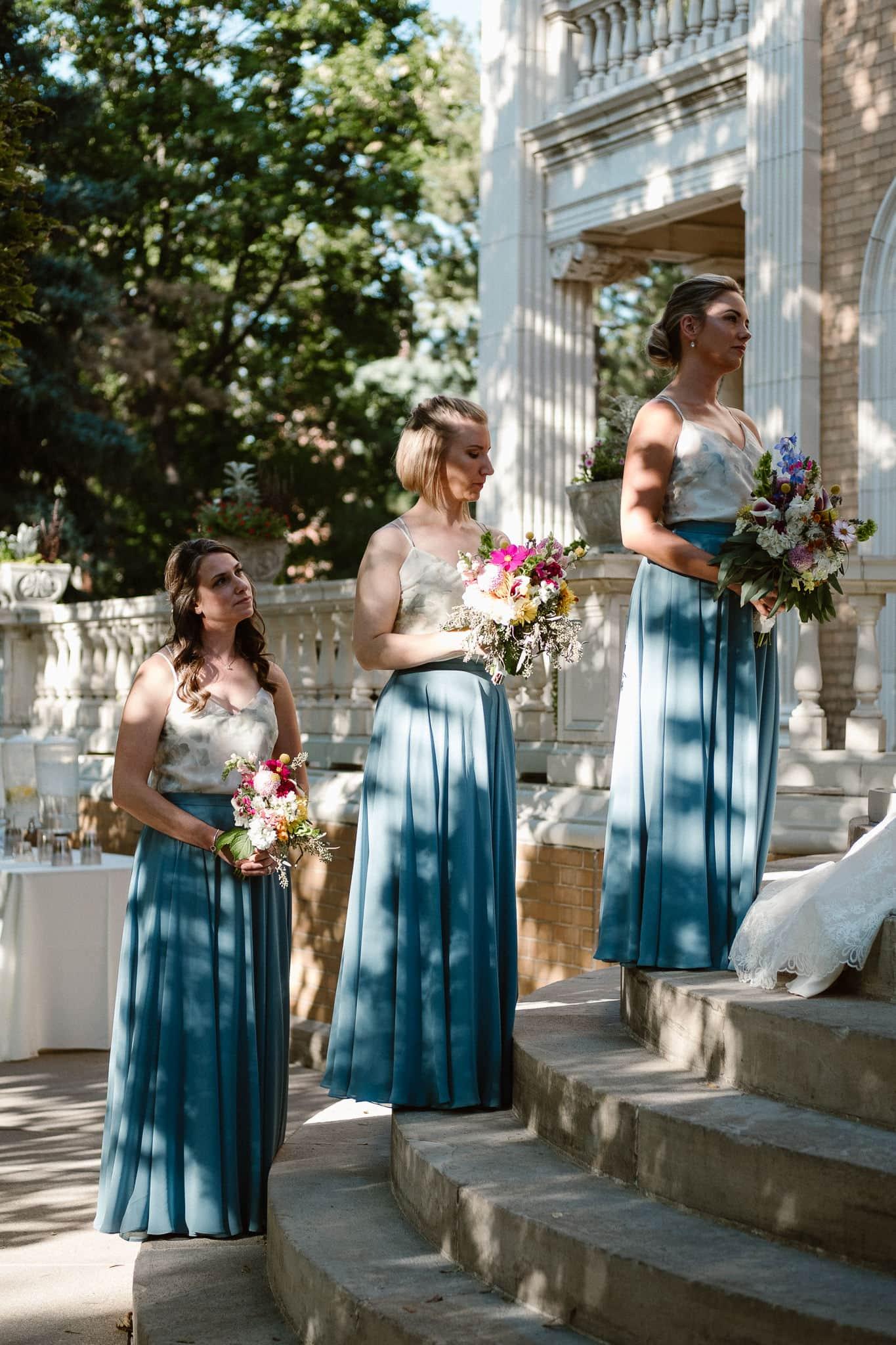 Grant Humphreys Mansion Wedding Photographer, Denver wedding photographer, Colorado wedding photographer, wedding ceremony