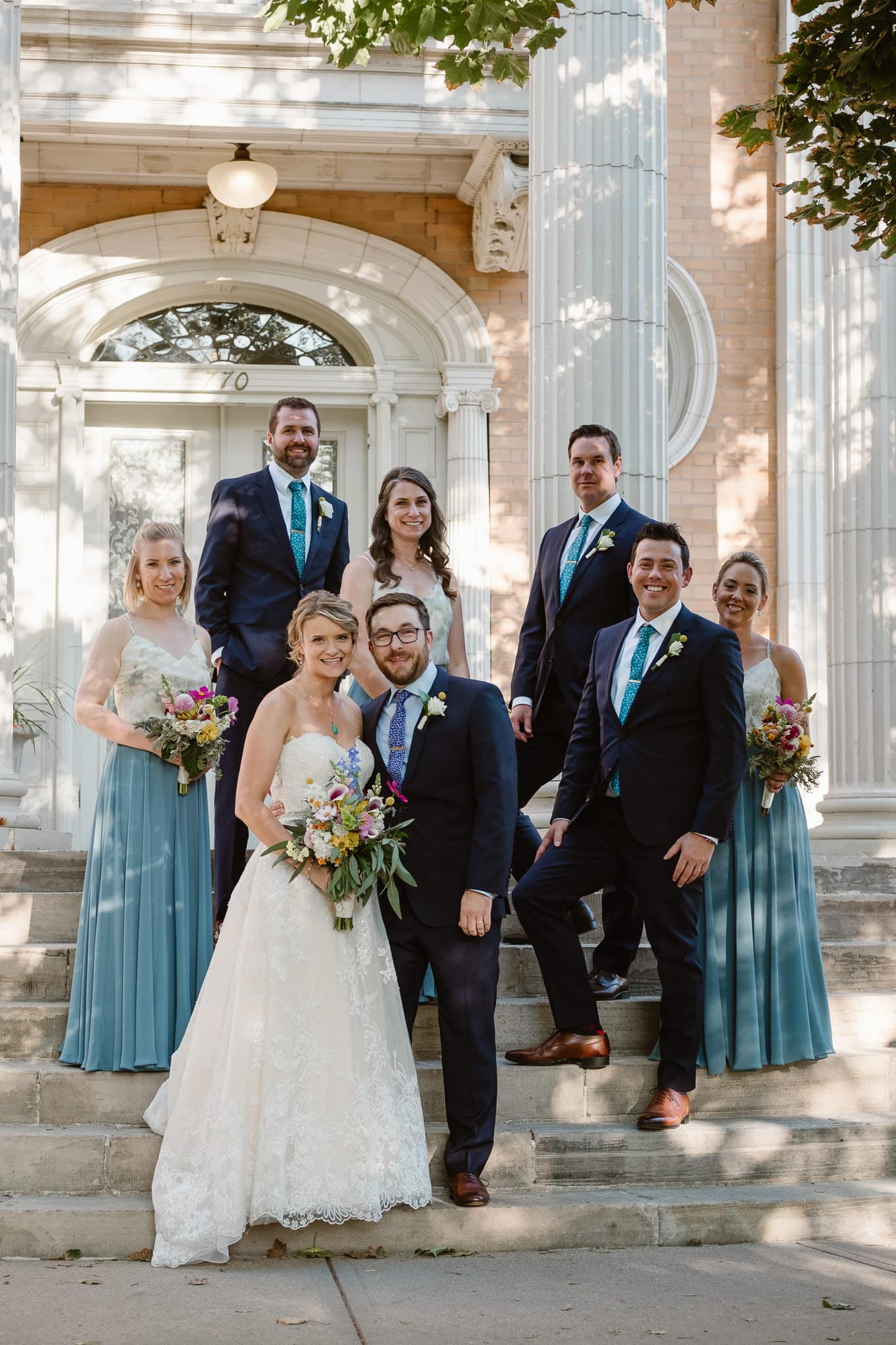 Grant Humphreys Mansion Wedding Photographer, Denver wedding photographer, Colorado wedding photographer, wedding party photos