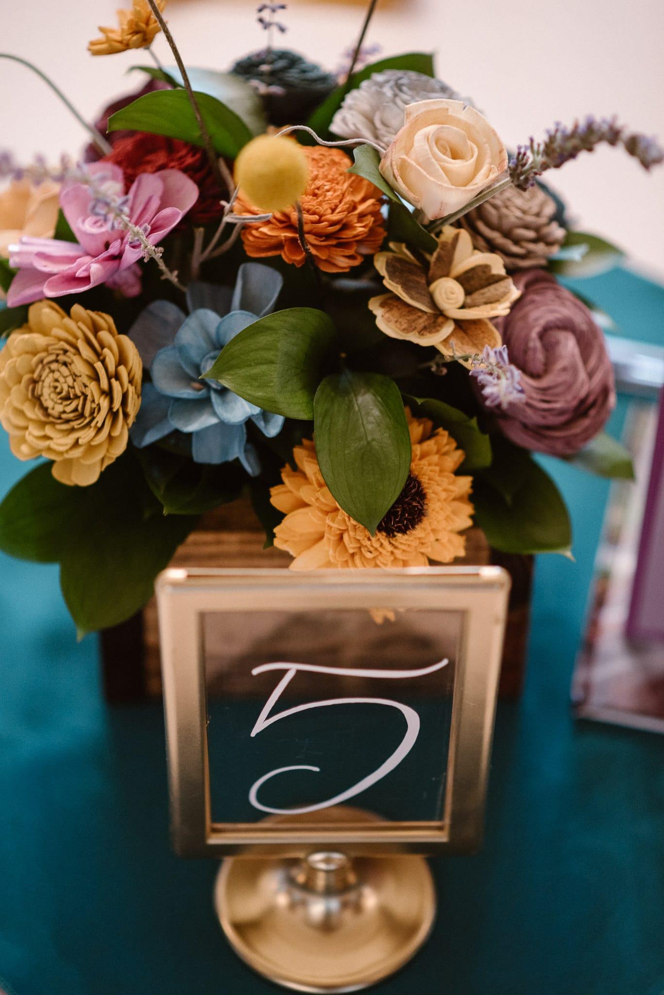 Grant Humphreys Mansion Wedding Photographer, Denver wedding photographer, Colorado wedding photographer, reception venue, wedding reception decor, table numbers