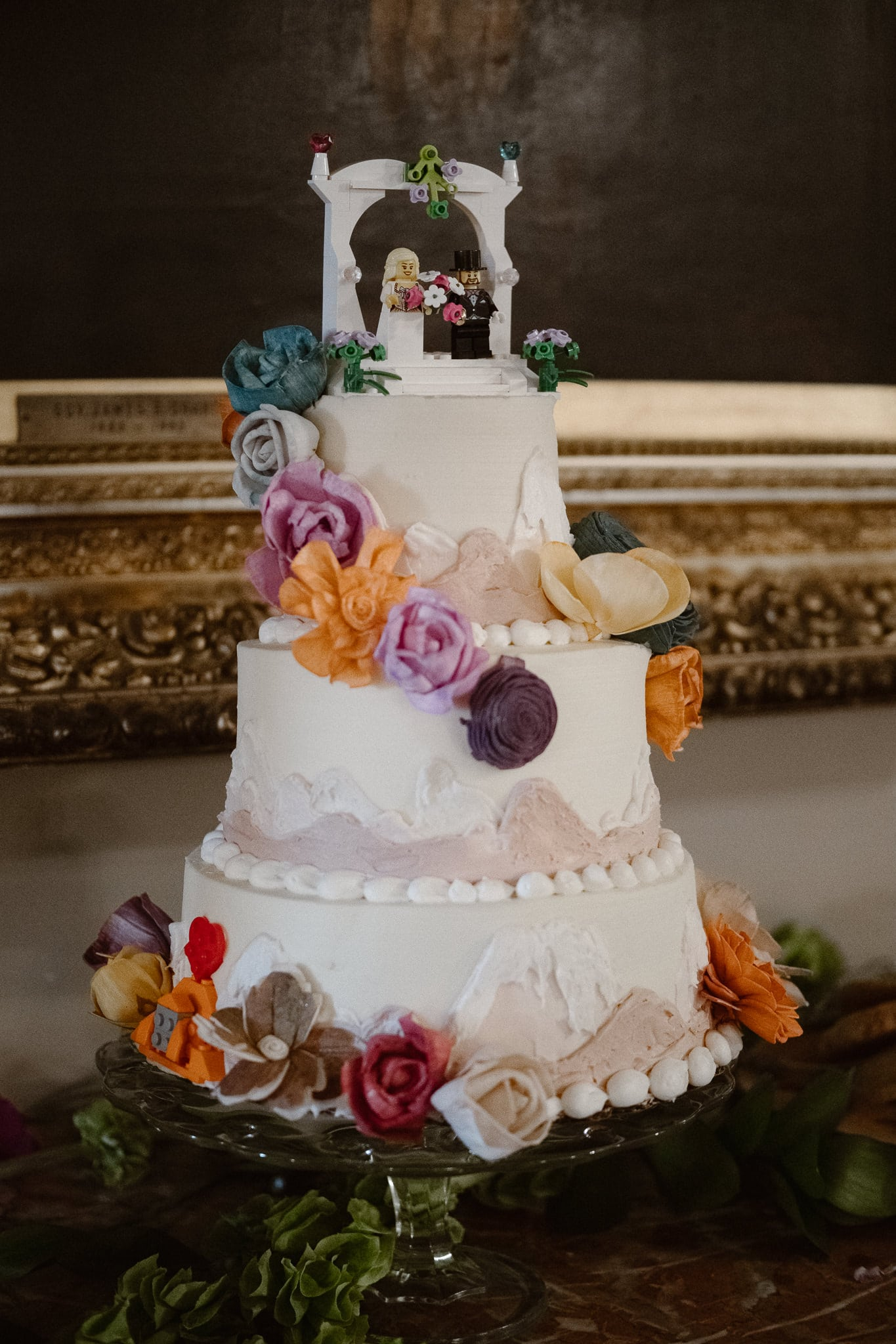 Grant Humphreys Mansion Wedding Photographer, Denver wedding photographer, Colorado wedding photographer, wedding cake with lego figures