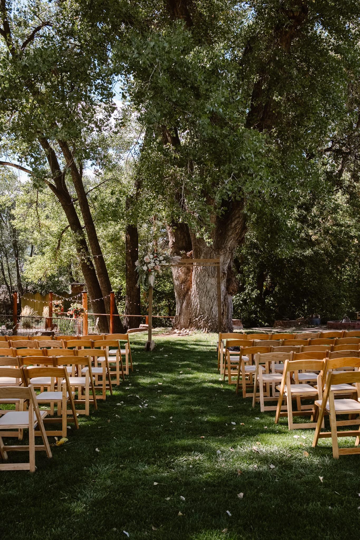 Lyons Farmette wedding photographer, Colorado intimate wedding photographer, outdoor ceremony site, Colorado wedding venue