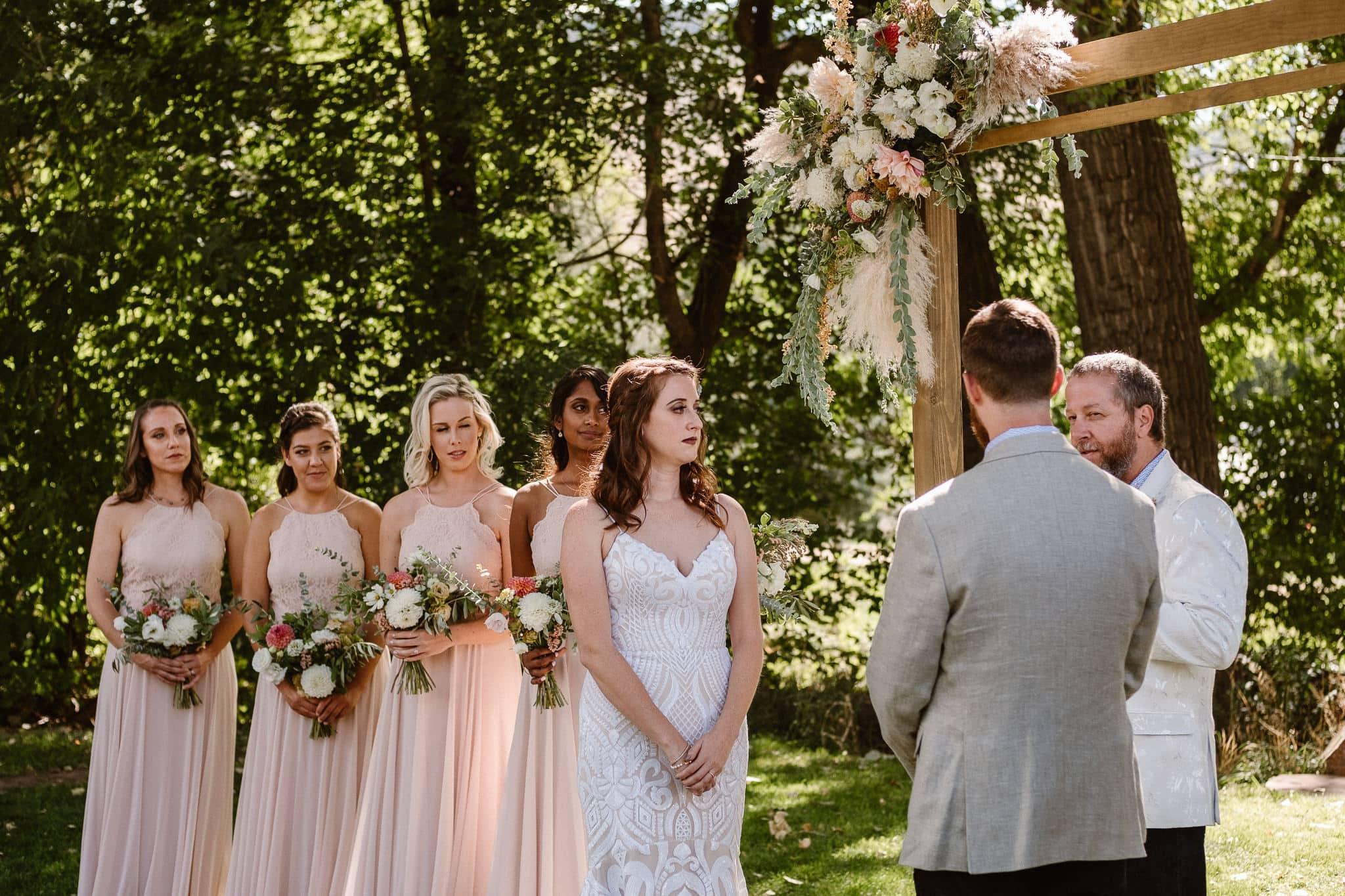 Lyons Farmette wedding photographer, Colorado intimate wedding photographer, wedding ceremony, wedding photos