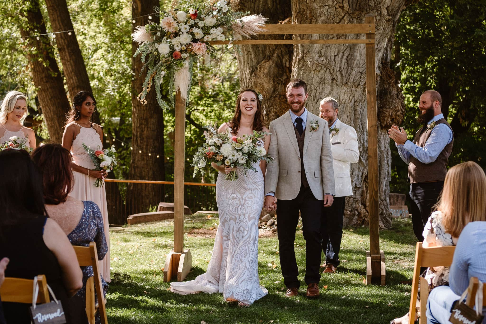 Lyons Farmette wedding photographer, Colorado intimate wedding photographer, wedding ceremony, wedding photos