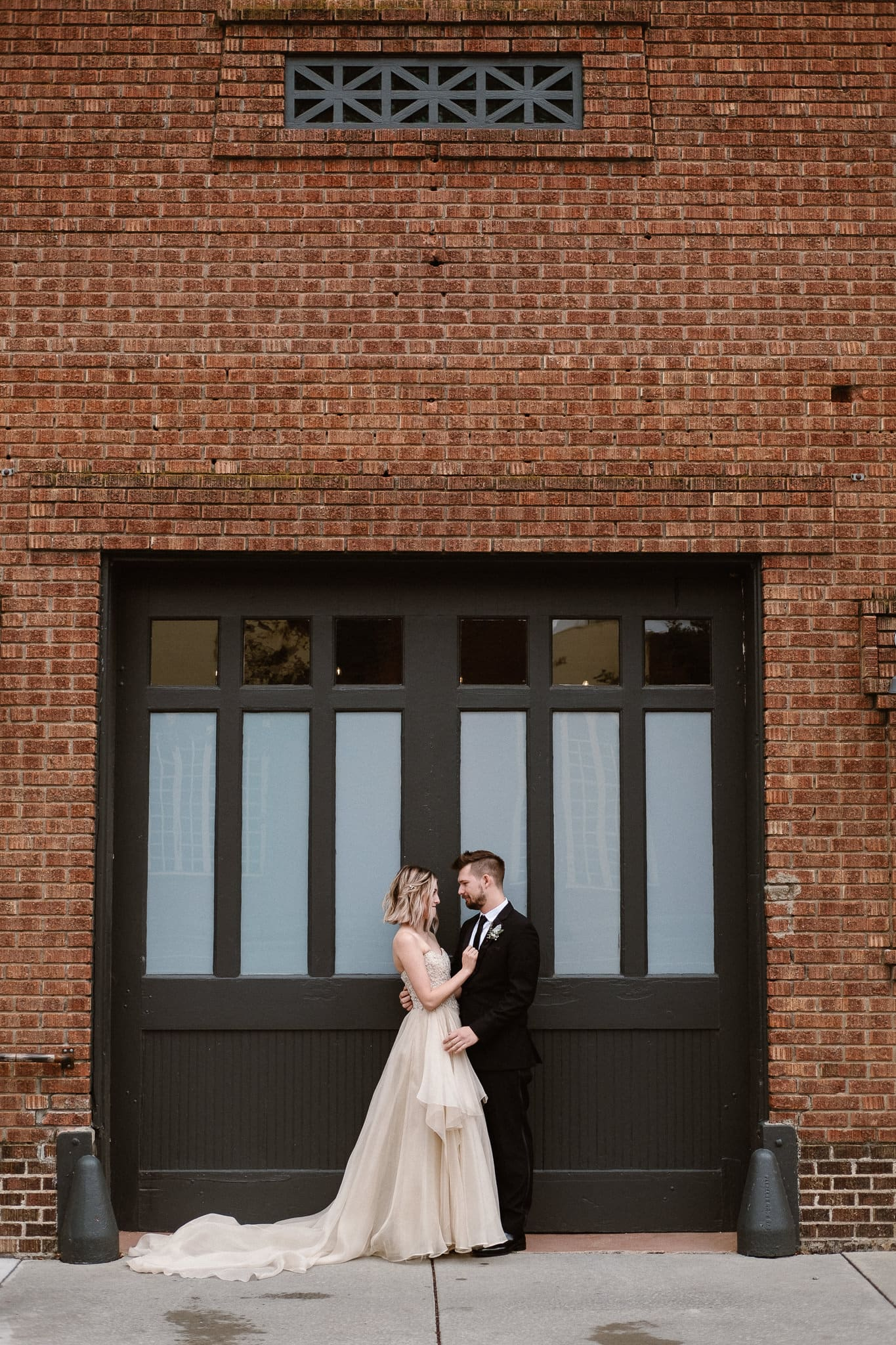 St Vrain Wedding Photographer | Longmont Wedding Photographer | Colorado Winter Wedding Photographer, Colorado industrial chic wedding, bride and groom portraits