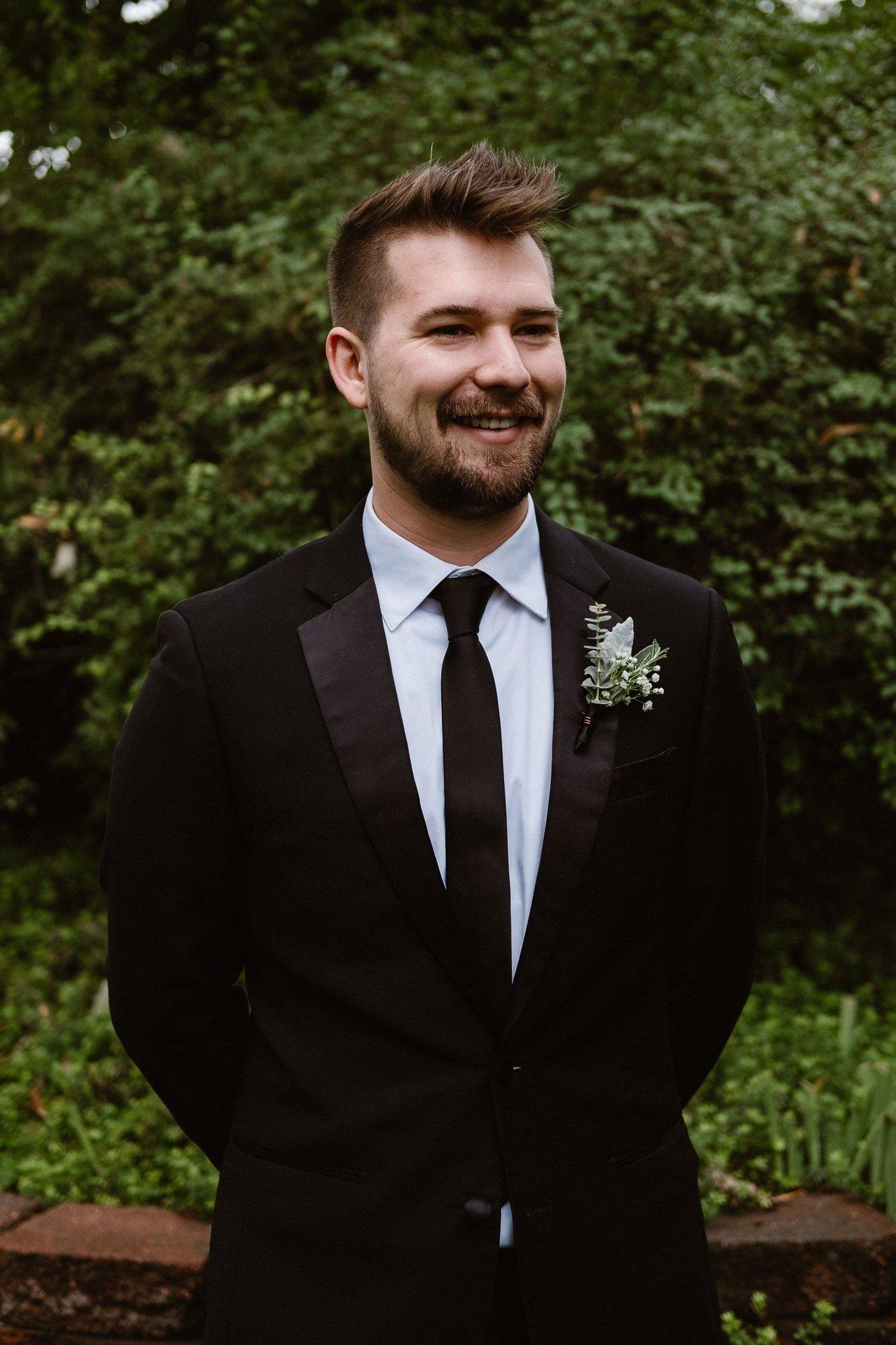 St Vrain Wedding Photographer | Longmont Wedding Photographer | Colorado Winter Wedding Photographer, Colorado industrial chic wedding, groom portrait