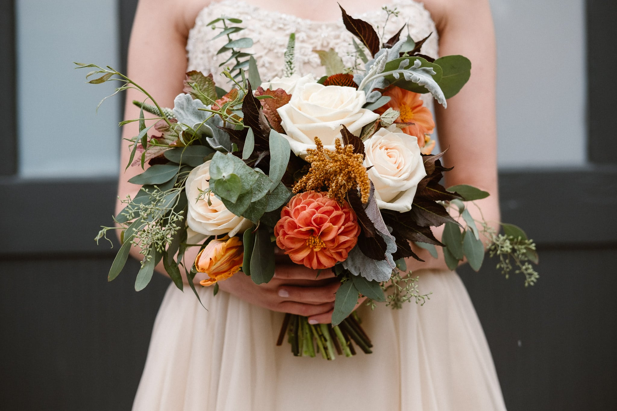 Bouquet by Longmont wedding florist a florae