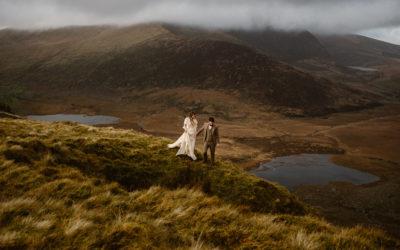 Christin + Gareth's Conor Pass Adventure