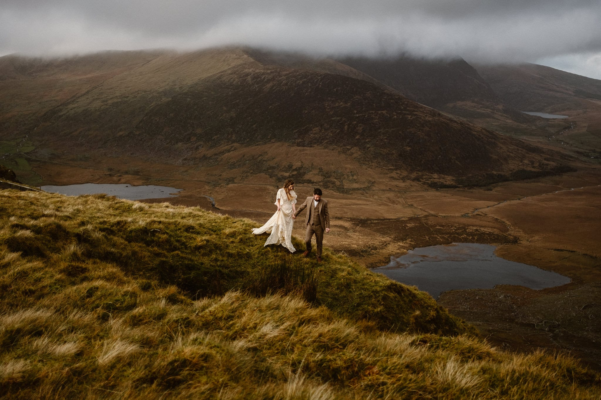 Conor Pass Adventure Elopement Ireland