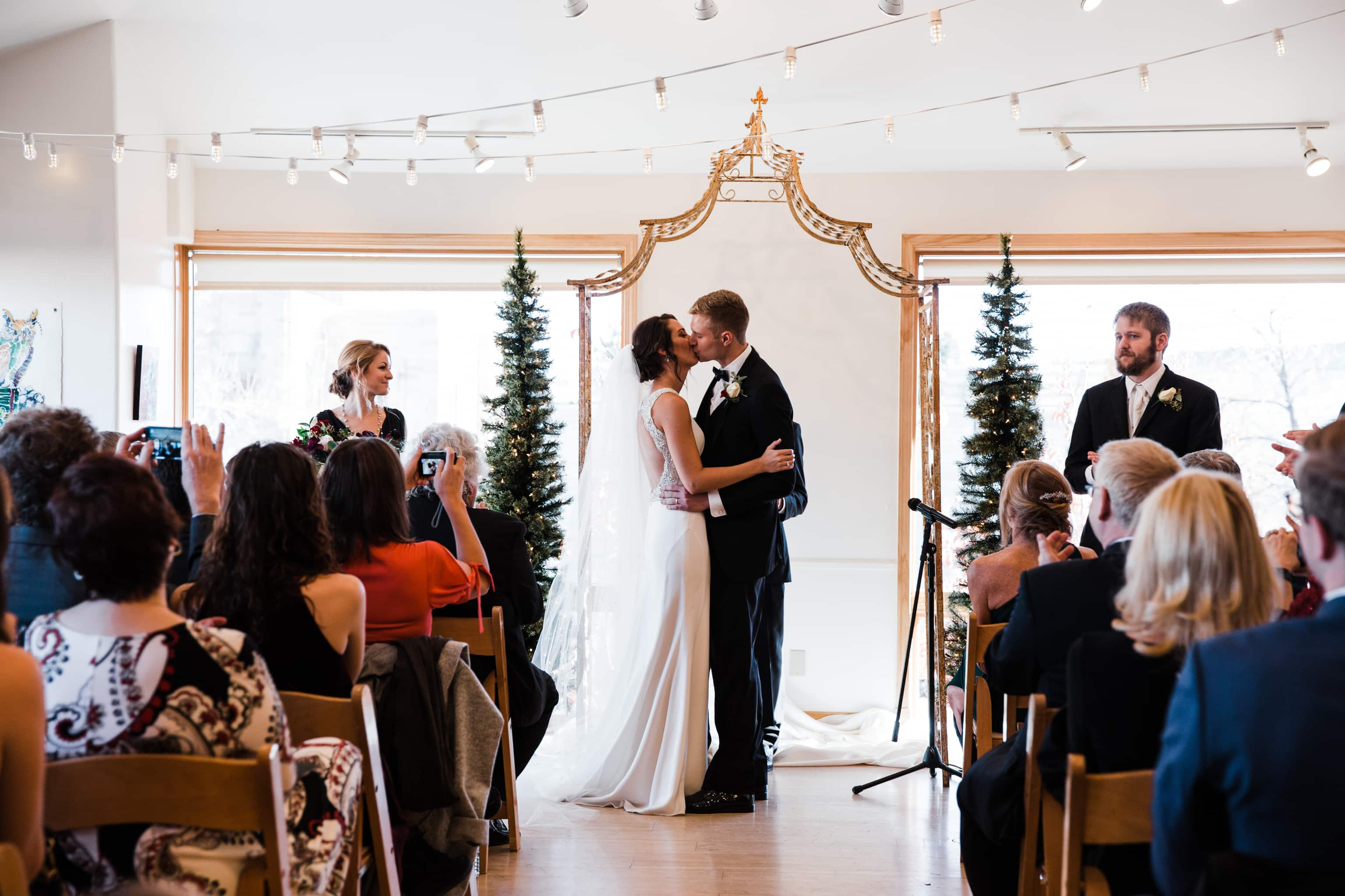 Rembrandt Yard Winter Wedding