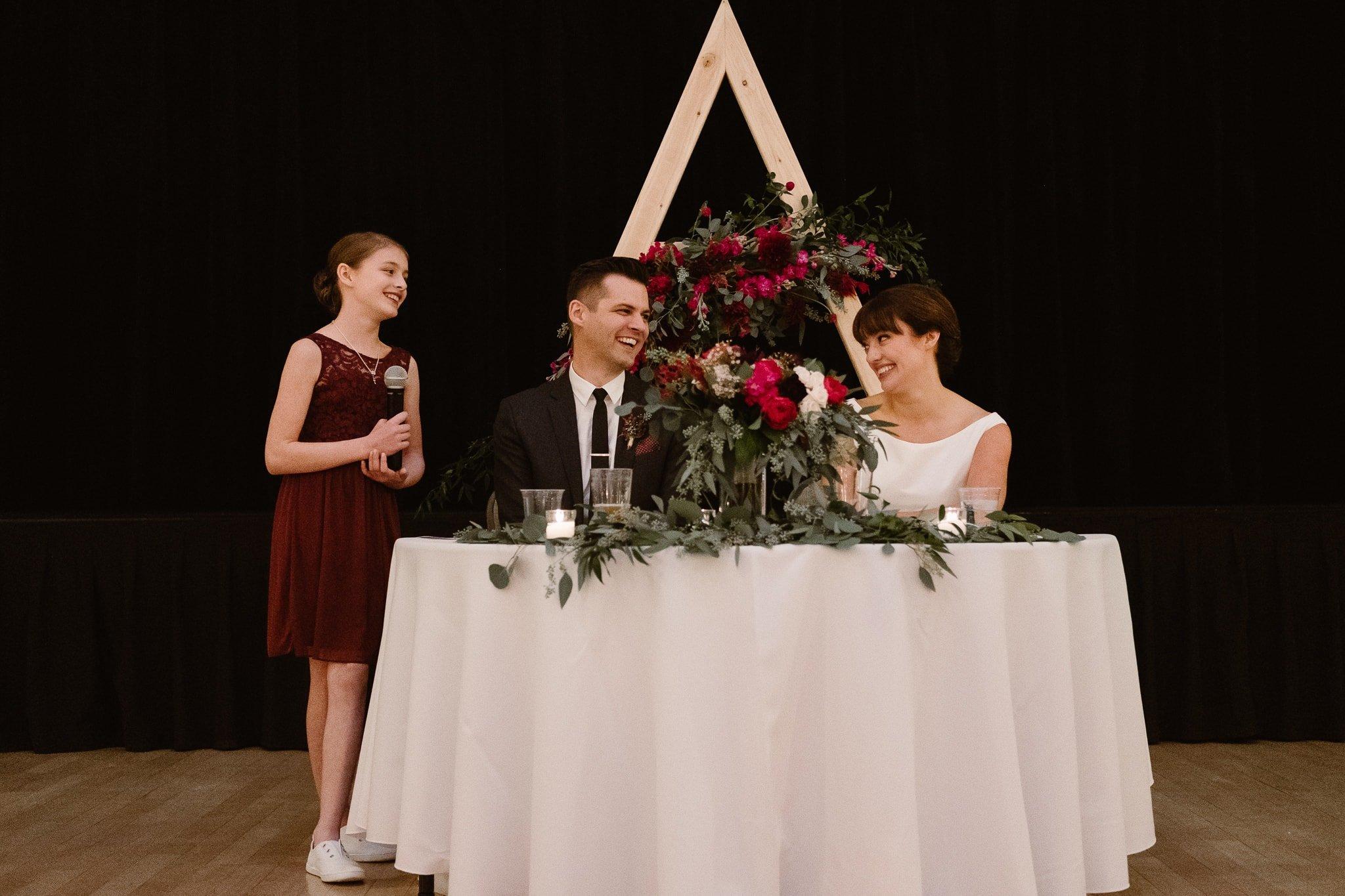 Silverthorne Pavilion wedding photography, Colorado wedding photographer, wedding toasts and speeches