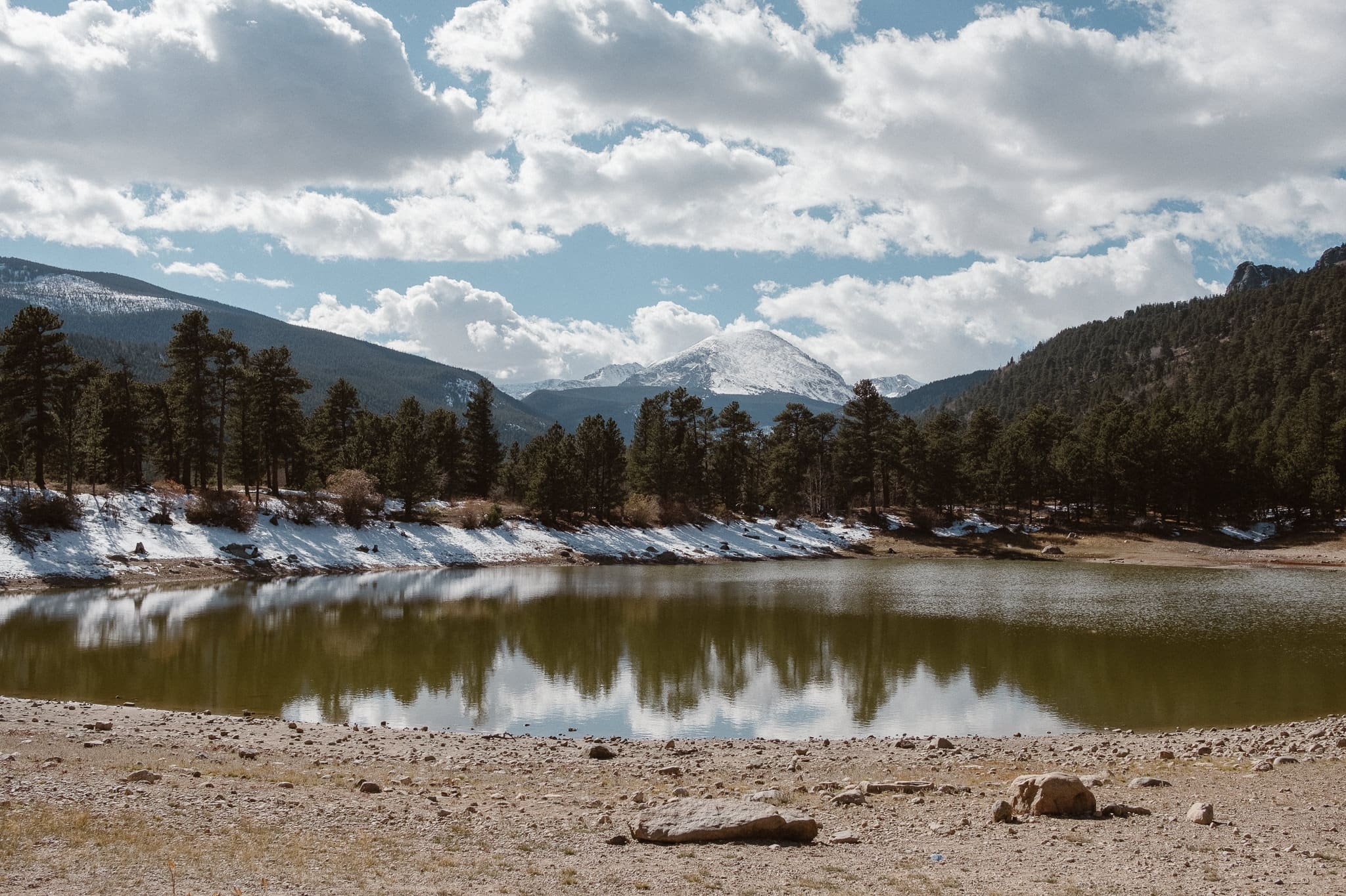 Rocky Mountain National Park wedding locations, Copeland Lake